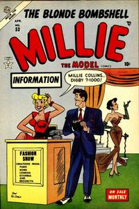 Cover Thumbnail for Millie the Model Comics (Marvel, 1945 series) #53