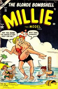 Cover Thumbnail for Millie the Model Comics (Marvel, 1945 series) #55