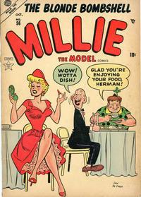 Cover Thumbnail for Millie the Model Comics (Marvel, 1945 series) #56