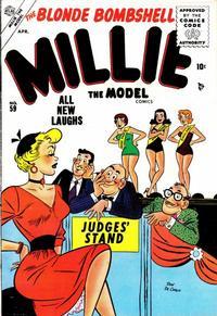 Cover Thumbnail for Millie the Model Comics (Marvel, 1945 series) #59