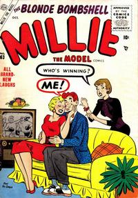 Cover Thumbnail for Millie the Model Comics (Marvel, 1945 series) #63