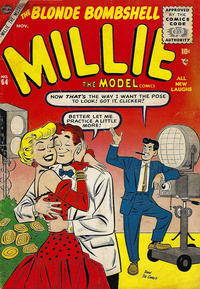 Cover Thumbnail for Millie the Model Comics (Marvel, 1945 series) #64