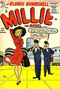 Cover Thumbnail for Millie the Model Comics (Marvel, 1945 series) #70