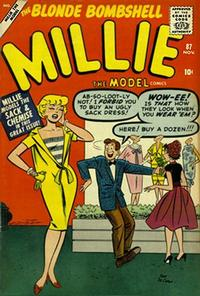Cover Thumbnail for Millie the Model Comics (Marvel, 1945 series) #87