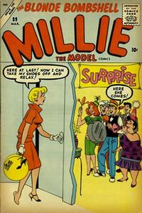 Cover Thumbnail for Millie the Model Comics (Marvel, 1945 series) #89