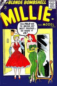 Cover Thumbnail for Millie the Model Comics (Marvel, 1945 series) #90