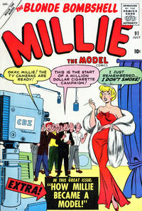 Cover Thumbnail for Millie the Model Comics (Marvel, 1945 series) #91