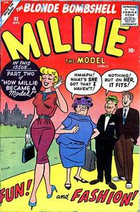 Cover Thumbnail for Millie the Model Comics (Marvel, 1945 series) #92
