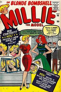 Cover Thumbnail for Millie the Model Comics (Marvel, 1945 series) #96