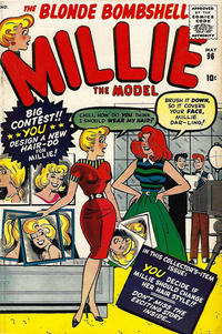 Cover Thumbnail for Millie the Model Comics (Marvel, 1945 series) #96