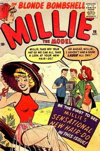 Cover Thumbnail for Millie the Model Comics (Marvel, 1945 series) #98