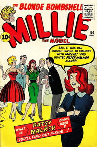 Cover Thumbnail for Millie the Model Comics (Marvel, 1945 series) #103