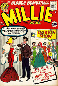 Cover Thumbnail for Millie the Model Comics (Marvel, 1945 series) #104