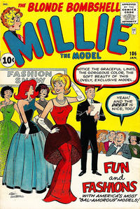 Cover Thumbnail for Millie the Model Comics (Marvel, 1945 series) #106