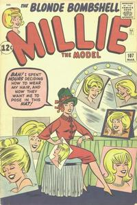 Cover Thumbnail for Millie the Model Comics (Marvel, 1945 series) #107