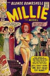 Cover Thumbnail for Millie the Model Comics (Marvel, 1945 series) #129