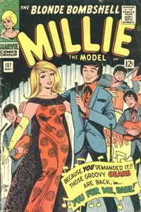 Cover Thumbnail for Millie the Model Comics (Marvel, 1945 series) #137