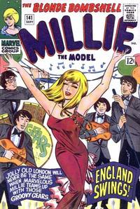 Cover Thumbnail for Millie the Model Comics (Marvel, 1945 series) #141