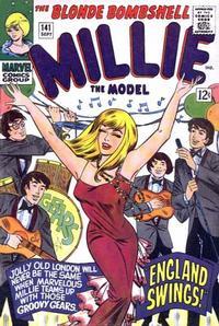 Cover Thumbnail for Millie the Model Comics (Marvel, 1945 series) #141