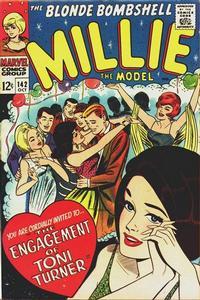 Cover Thumbnail for Millie the Model Comics (Marvel, 1945 series) #142