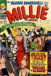 Cover Thumbnail for Millie the Model Comics (Marvel, 1945 series) #143
