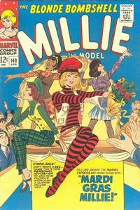 Cover Thumbnail for Millie the Model (Marvel, 1966 series) #148