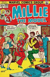 Cover Thumbnail for Millie the Model (Marvel, 1966 series) #203
