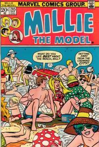 Cover Thumbnail for Millie the Model (Marvel, 1966 series) #205