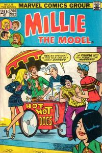 Cover Thumbnail for Millie the Model (Marvel, 1966 series) #206
