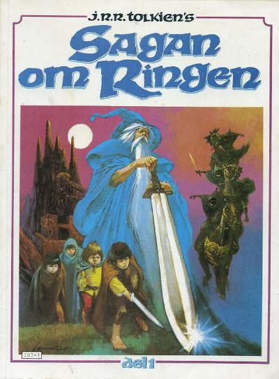 Cover for Sagan om ringen (Atlantic Förlags AB, 1979 series) #1
