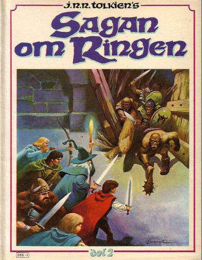 Cover for Sagan om ringen (Atlantic Förlags AB, 1979 series) #2