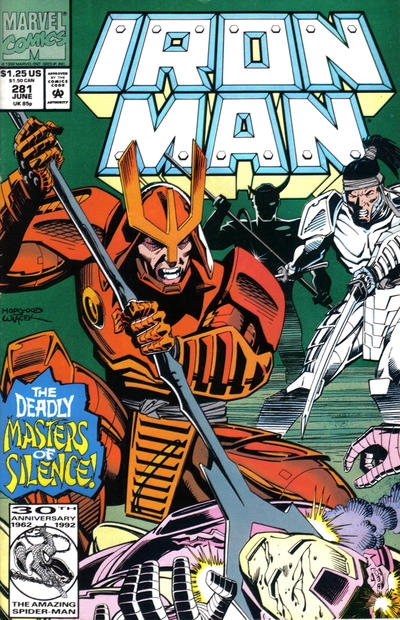 Cover for Iron Man (Marvel, 1968 series) #281