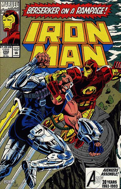 Cover for Iron Man (Marvel, 1968 series) #292