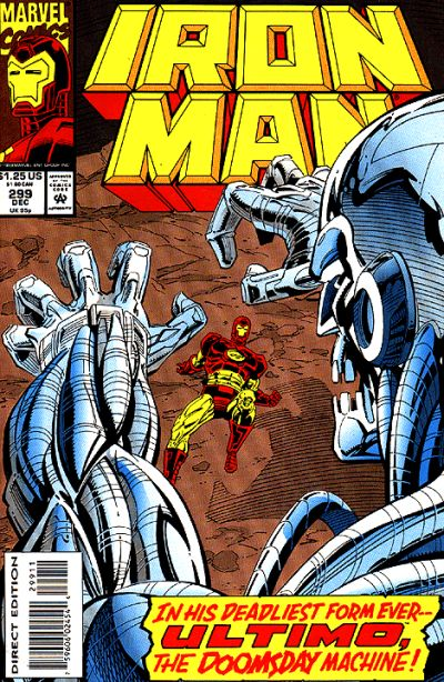 Cover for Iron Man (Marvel, 1968 series) #299