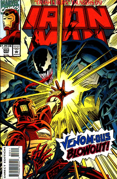 Cover for Iron Man (Marvel, 1968 series) #302