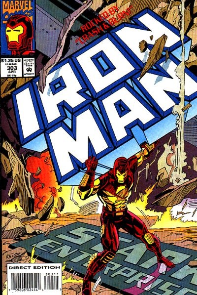 Cover for Iron Man (Marvel, 1968 series) #303