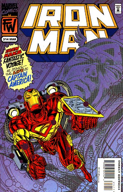 Cover for Iron Man (Marvel, 1968 series) #314