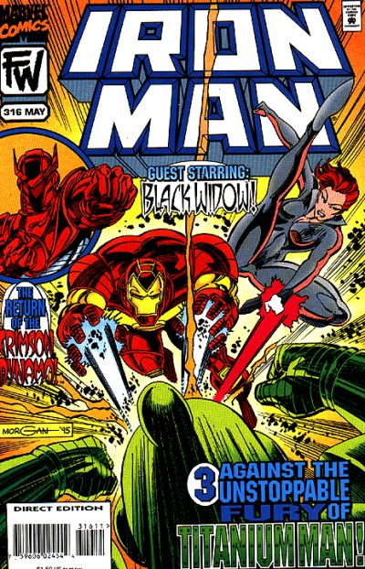 Cover for Iron Man (Marvel, 1968 series) #316