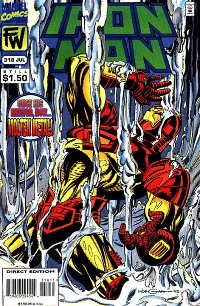 Cover for Iron Man (Marvel, 1968 series) #318