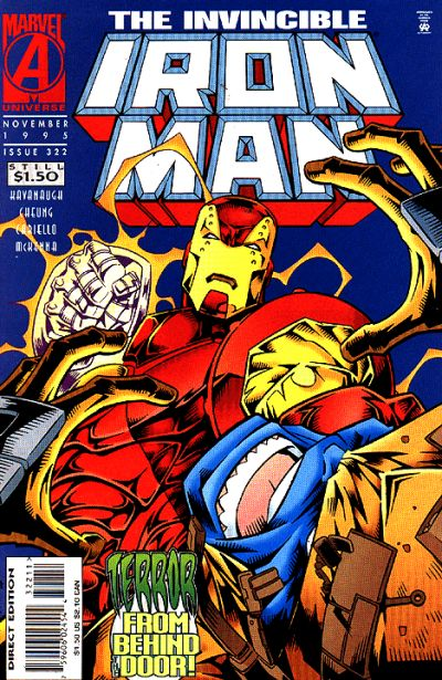 Cover for Iron Man (Marvel, 1968 series) #322