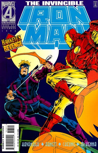 Cover for Iron Man (Marvel, 1968 series) #323