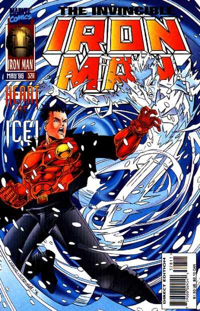 Cover for Iron Man (Marvel, 1968 series) #328