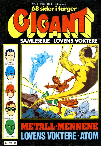 Cover for Gigant (Semic, 1977 series) #4/1978