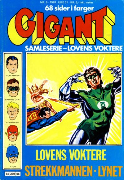 Cover for Gigant (Semic, 1977 series) #6/1978