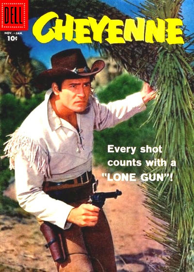 Cover for Cheyenne (Dell, 1957 series) #5
