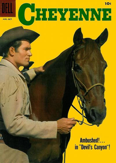 Cover for Cheyenne (Dell, 1957 series) #8
