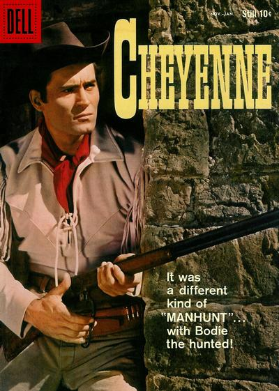 Cover for Cheyenne (Dell, 1957 series) #9