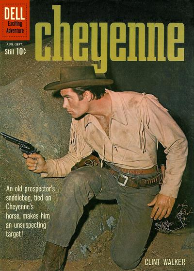 Cover for Cheyenne (Dell, 1957 series) #17