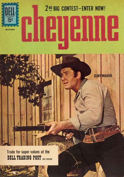 Cover for Cheyenne (Dell, 1957 series) #23