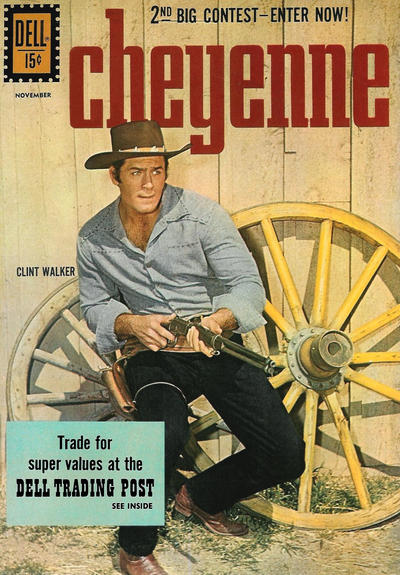 Cover for Cheyenne (Dell, 1957 series) #24